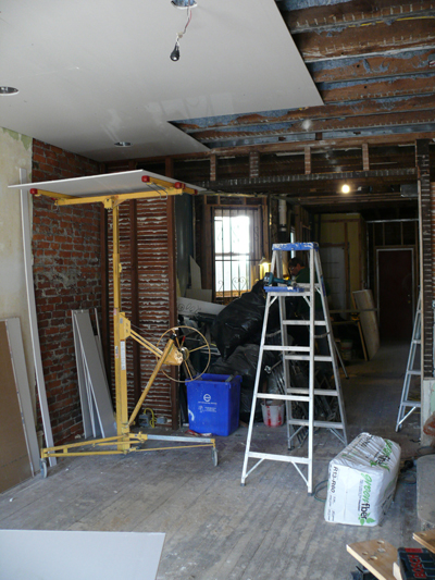 South Fiftieth Street Slowly Restoring A West Philly Rowhome